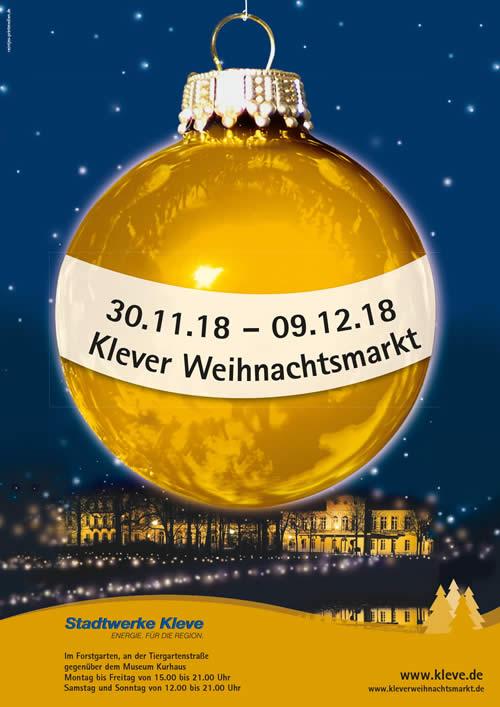 Kerstmarkt Kleve Met Podiumprogramma Agenda Nijmegen