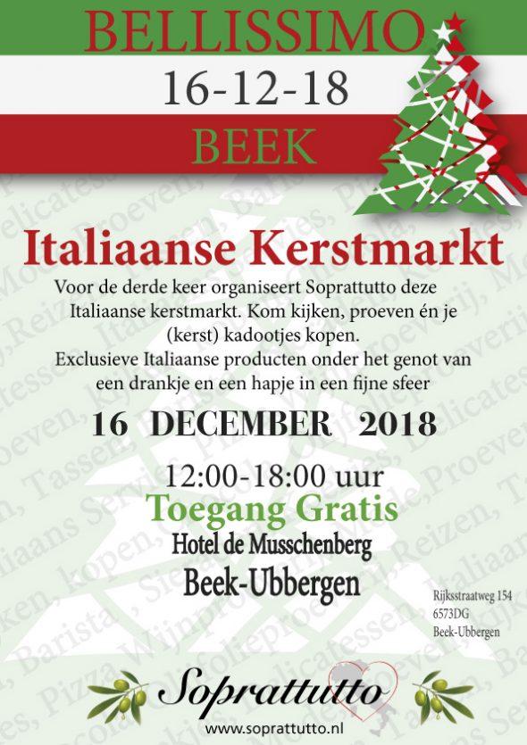 Bellissimo Beek Italiaanse Kerstmarkt Beek Ubbergen Agenda Nijmegen