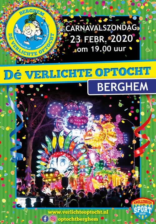 De Verlichte Carnavalsoptocht 2020 Berghem Agenda Nijmegen